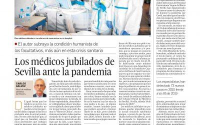 Los médicos jubilados de Sevilla ante la pandemia actual