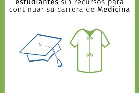 Se convocan veintidós nuevas becas para estudiantes sin recursos para continuar su carrera de Medicina
