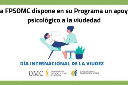 La Fundación para la Protección Social de la OMC pone en marcha un apoyo psicológico a la viudedad