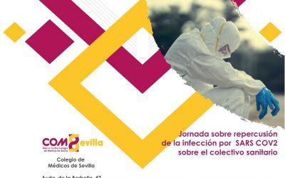 El Colegio de Médicos de Sevilla celebra la 'Jornada sobre repercusión de la infección por SARS.CoV.2 sobre el colectivo sanitario' este martes 22
