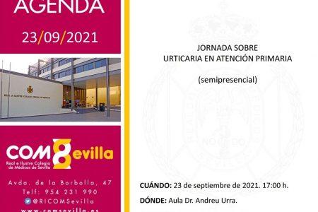 Jornada sobre Urticaria en Atención Primaria (semipresencial)